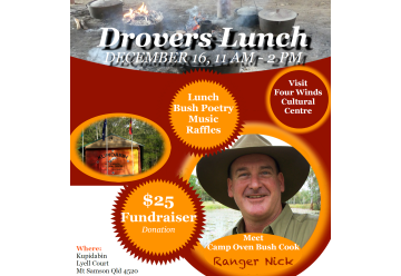 CANCELLED: Drovers Lunch 16 Dec 2018