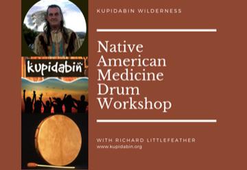 Native American Drum Making Workshop 9-11 Nov 2018