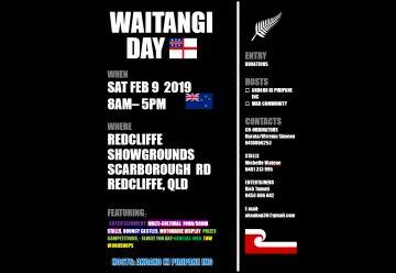 Waitangi Day Redcliffe 9 Feb 2019