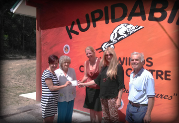 Donation to Wiruungga Organisation Inc