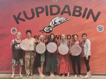 Medicine Drum Workshops with Sherrie and Chris